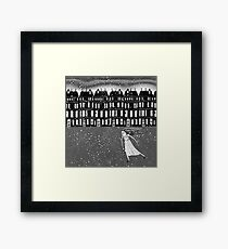 The Snowstorm  Framed Print