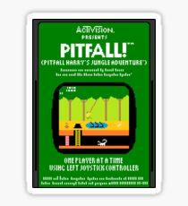 Pixel Pitfall! Sticker