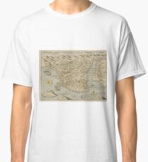 Vintage Pictorial Map of Constantinople (1620) Classic T-Shirt