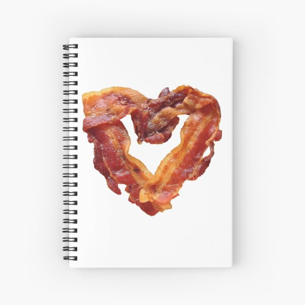 Bacon Spiral Notebook