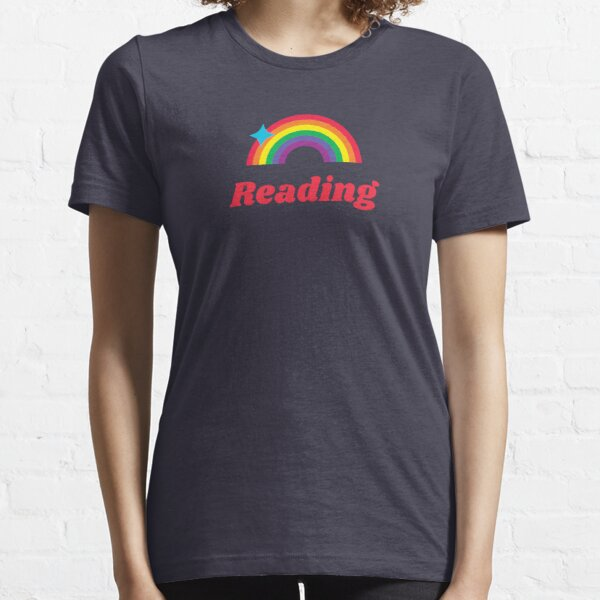 Reading Rainbow (Bright Vintage Design for Book Lovers) Essential T-Shirt