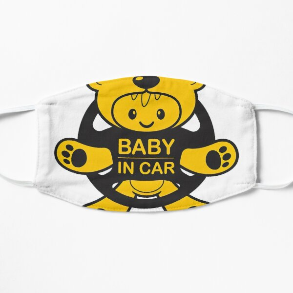 Baby On Board, Baby On Board, Baby in Car Flat Mask