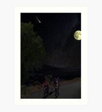 Strangers Things Poster Art Print