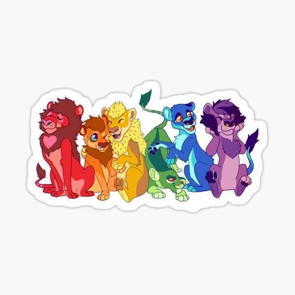 Pride Lions Sticker