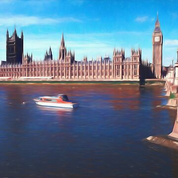House of Parliament , Westminster, London by goldyart
