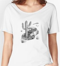 Beetle - End of the Road 'Signed' Women's Relaxed Fit T-Shirt
