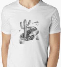 Beetle - End of the Road 'Signed' Men's V-Neck T-Shirt