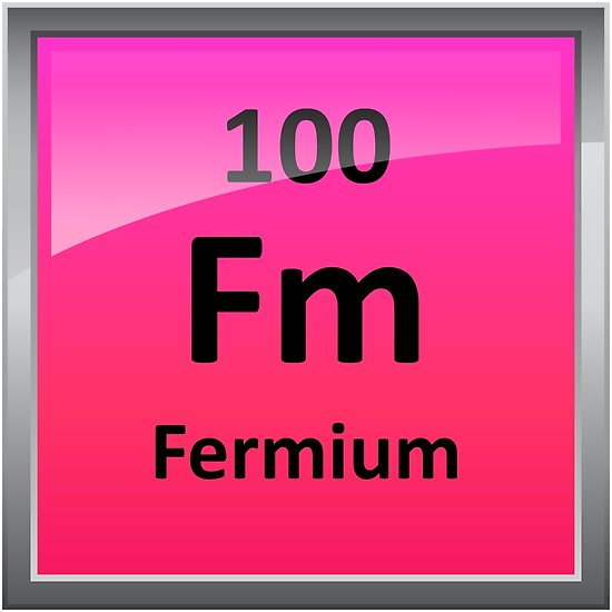 Fermium periodic table element symbol posters by sciencenotes fermium periodic table element symbol by sciencenotes urtaz Gallery