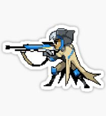Ana - Pixel Spray Sticker