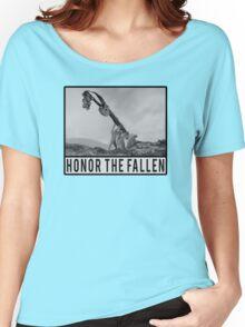 Honor the Fallen - Sloth Iwo Jima Women's Relaxed Fit T-Shirt