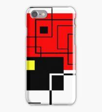 Red Square iPhone Case/Skin