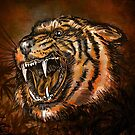 Tiger head. by andy551