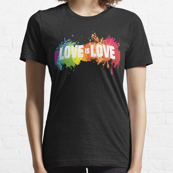 Love is love LGBTQ gay pride Essential T-Shirt