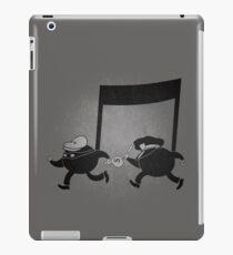 Chase scene music. iPad Case/Skin