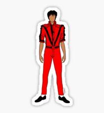 Thriller Red Jackson Sticker