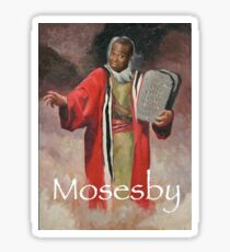 marion moseby as moses Sticker