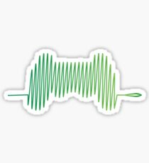 Gamer Heartbeat Sticker