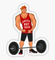 Hercules Whey Protein Sticker