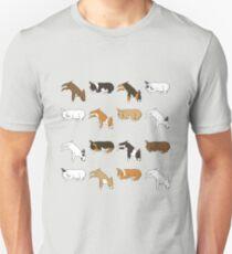 Lazy Bull Terrier - White T-Shirt