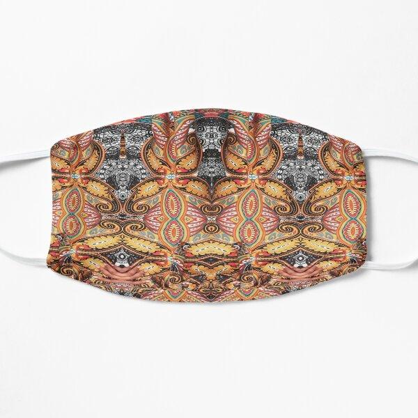 Hip, modish, astonishing, amazing, surprising, wonderful, remarkable, extraordinary Flat Mask