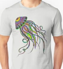 Electric Jellyfish Unisex T-Shirt