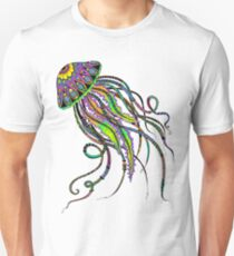 Electric Jellyfish Unisex T-Shirt