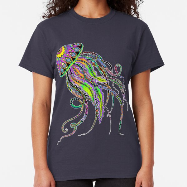 Electric Jellyfish Classic T-Shirt