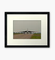 Vulcan at RAF Waddington Framed Print