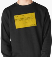 Lacuna Reminder Pullover