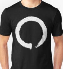 Zen Enso - White Grunge Unisex T-Shirt