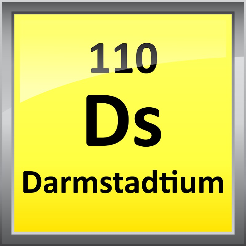 Periodic table spelling words with periodic table symbols darmstadtium periodic table element symbol stickers by urtaz Image collections