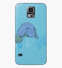 Lamantin bleu Coque et skin Samsung Galaxy