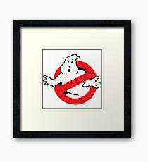 Ghostbusters Logo Framed Print