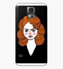 Black Widow  Case/Skin for Samsung Galaxy