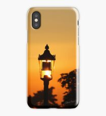 Streetlight Sunset iPhone Case