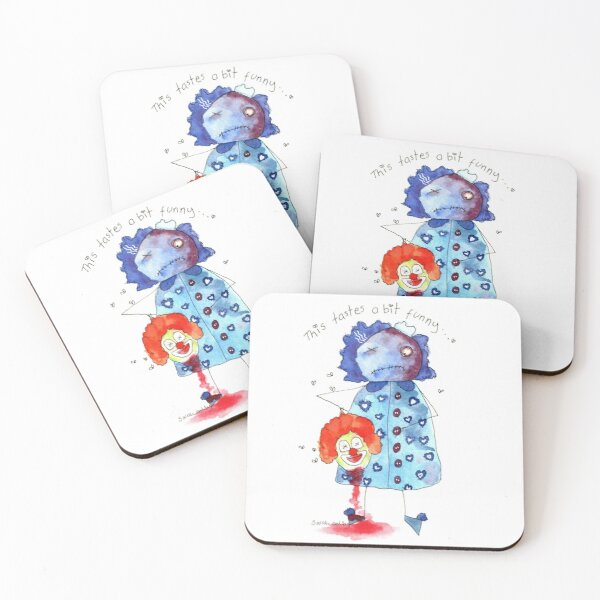 This Tastes A Bit Funny Coasters (Set of 4)