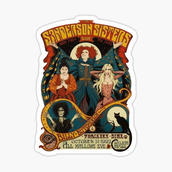 Sanderson Sisters Halloween Sticker