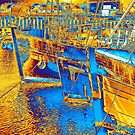 Portavogie Harbour by Les Sharpe