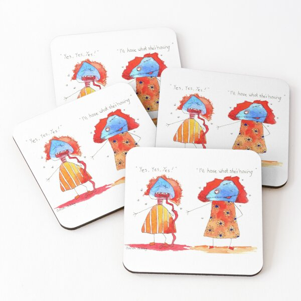 I'll Have What She's Having Coasters (Set of 4)