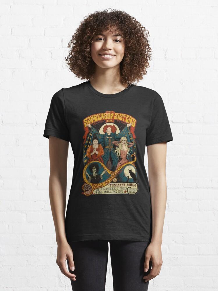 Alternate view of Sanderson Sisters Halloween Essential T-Shirt