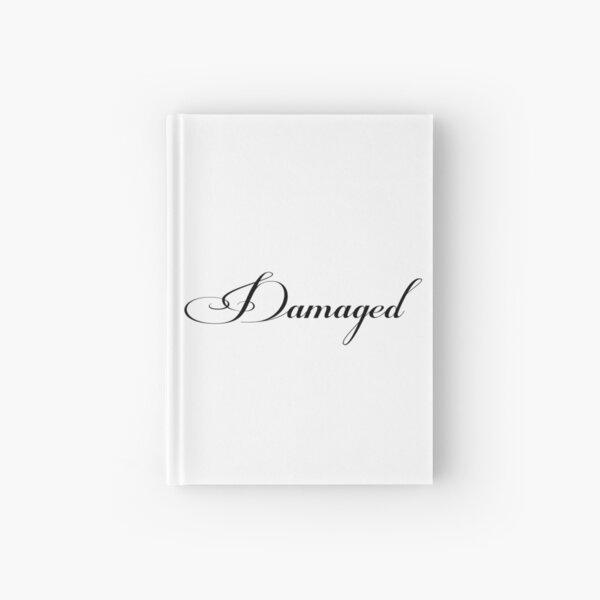 DAMAGED - white vrs. Hardcover Journal