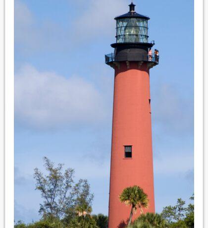 Jupiter Lighthouse Sticker