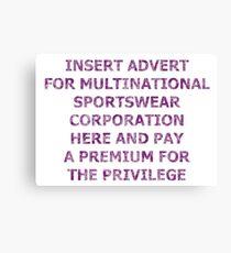 Corporate Canvas Print