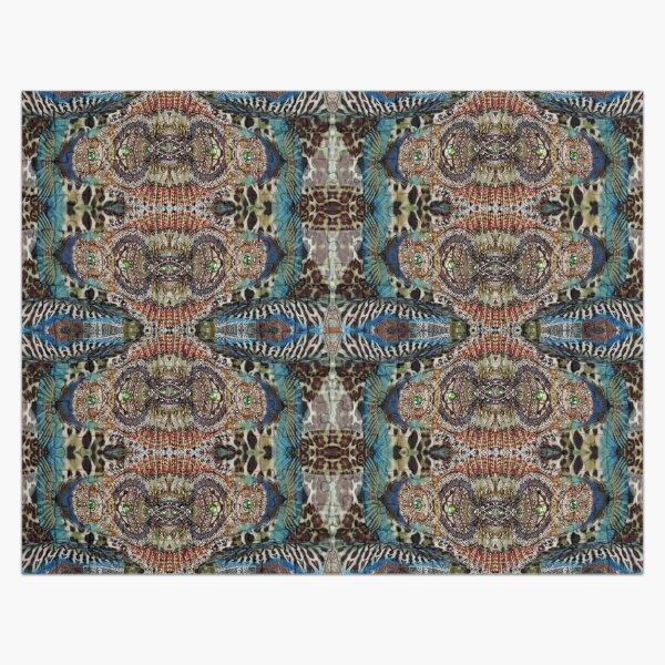 #art #decoration #pattern #ornate design antique mosaic abstract castle Jigsaw Puzzle