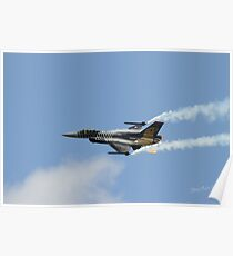 Turkish F16 at Waddington Airshow Poster