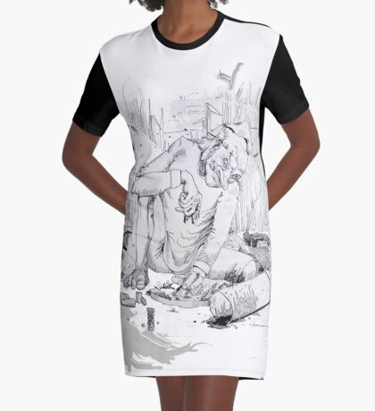 Entomologist Graphic T-Shirt Dress