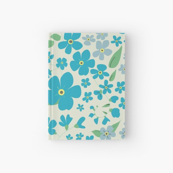 Forget-Me-Not Hardcover Journal