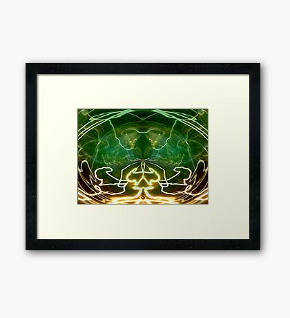 Electric Storm Framed Print