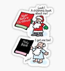 God & Santa Children's Books Sticker