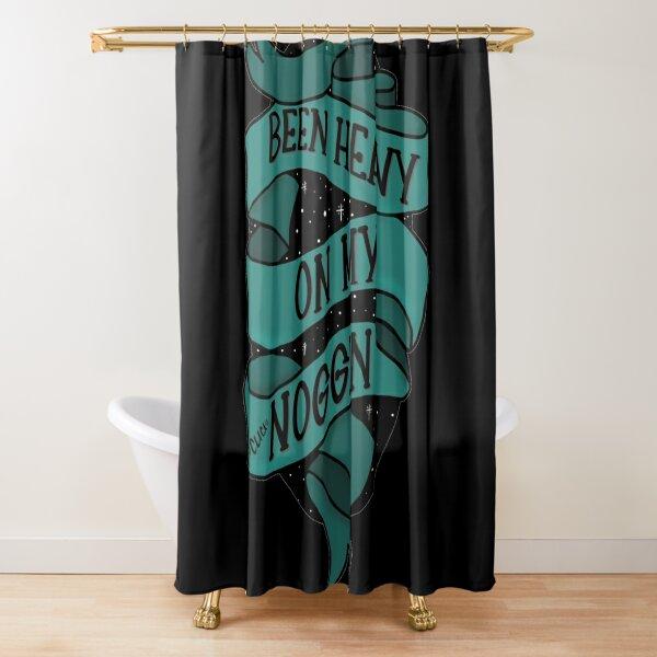 Been heavy on my noggin - bailey sarian suspish Shower Curtain